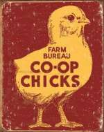 Tin Sign - Farm Bureau Co-op Chicks