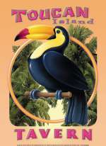 Tin Sign - Toucan Island Tavern