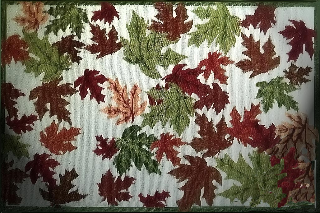 Cloth Fabric 4 Tapestry Placemats-Autumn Leaves