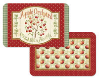 A Country Apple Appletree 4 Plastic Placemats