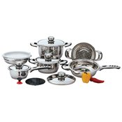 *12pc Cookware Stainless Steel