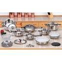 28pc Stainless Steel Cookware Set