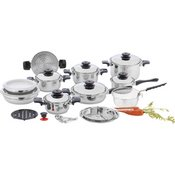 28pc-12 Elem Ss Cookware Set