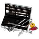 Chefmaster 22pc BBQ Grill Tool Set - Gift For Dad