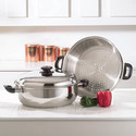 . Stainless Steel Skillet 14.25 inch Cookware